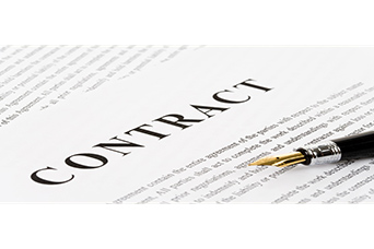 Contract to closing.